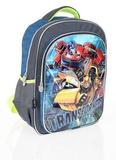 Transformers Okul Çantası Renkli